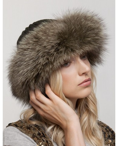 Wool And Fox Hat