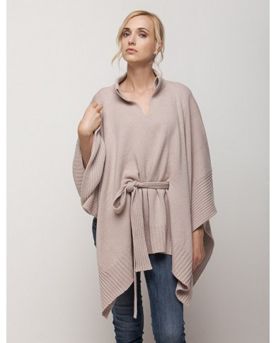 Wool/Cashmere Poncho